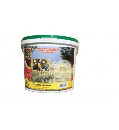 BIO-VEGETAL - nawóz z guano ogrodowy granulowany