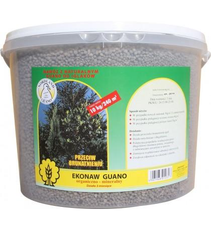 Nawóz z guano granulowany do iglaków