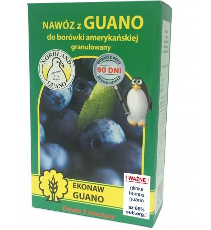 Nawóz z guano granulowany do borówki