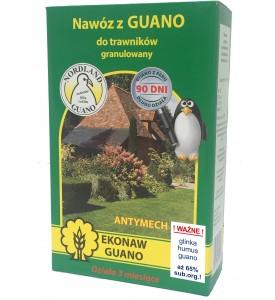 Nawóz z guano granulowany do trawników