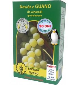 Nawóz z guano granulowany do winorośli